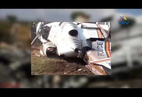 Kenyan Police Chopper Crashes